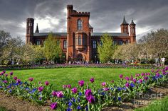 The awesome Smithsonian Castle in Washington DC