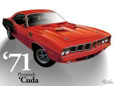 71 'Cuda (photoshop)