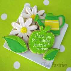 The perfect gift for that special teacher in your life. thank you cookies