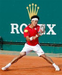 Japan's Kei Nishikori.  #tennis