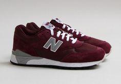#NewBalance CM 496 Burgundy #sneakers