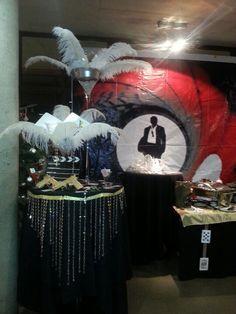 Xmas party, casino party, birthday parties, casino theme, james bond t Vegas Party, Casino Night Party, Casino Theme Parties, Party Themes, Theme Ideas, Party Ideas, James Bond Party, James Bond Theme, 40th Birthday Parties