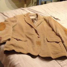 "Selling this ""Tan Corduroy Jacket"" in my Poshmark closet! My username is: katydid49. #shopmycloset #poshmark #fashion #shopping #style #forsale #kenny rogers #Jackets & Blazers"