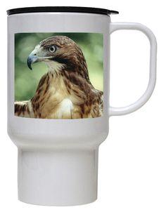 Hawk Polymer Plastic Travel Mug
