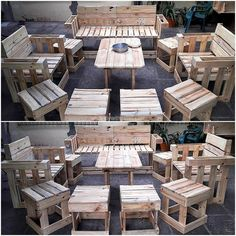 Creative DIY Ideas Out of Wood Pallets | DIY with Pallets: ideas for Wood Pallet Furniture Plans and Projects.