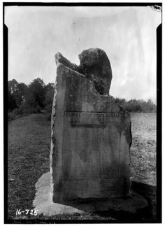 Take a photo tour of real sites from '13 Alabama Ghosts' as beloved book is reissued | AL.com This marker photographed in the 1930s told of Cahaba's history as the state's first capitol. (Contributed by Library of Congress)