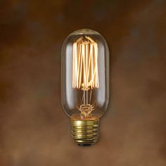 60W A19 E26 Nostalgic Antique Bulb Bulbrite Incandescent Light Bulbs Lighting Accessories