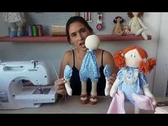 (88) LIVE 25.11 - Boneca Soninha - Parte 2 - YouTube 3d Paper Flowers, Baby Life Hacks, Doll Videos, Homemade Dolls, Doll Dress Patterns, Knitted Animals, Sewing Dolls, Doll Tutorial, Crochet Bunny