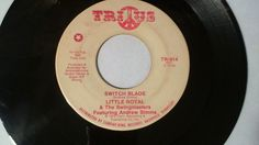 "LITTLE ROYAL & THE SWINGMASTERS Switch Blade (Funk Soul 45 Vinyl 7"") Trius Promo #Funk"