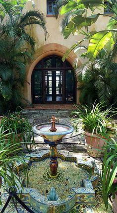 Bok Tower Gardens, Pinewood Estate.  Lake Wales FL