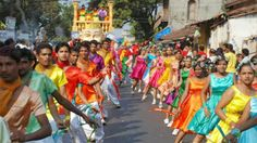 Dance show at Goa carnival