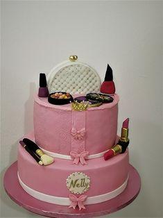 Make up cake Make Up Cake, Malu, Desserts, How To Make, Kids, Cakes, Food, Tailgate Desserts, Postres