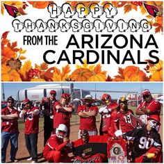 Happy Thanksgiving to the  AZCardinals Nation! We appreciate your support!   slingshotphoto  0b6436fac