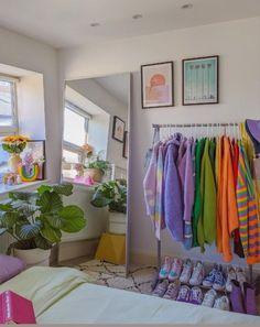 Room Design Bedroom, Room Ideas Bedroom, Bedroom Decor, Bedroom Inspo, Pastel Room Decor, Cute Room Decor, Pastel Bedroom, Indie Room, Pretty Room