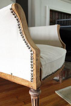Restoration deconstructed chair diy