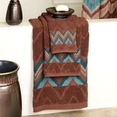 Beautiful Southwest Embellished Teal Quartz Plush Pc Bath Towel - Bath towel brands for small bathroom ideas