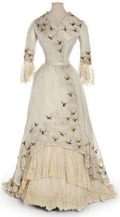 Evening Dress - Jacques Doucet, 1900-1905 - Les Arts Décoratifs