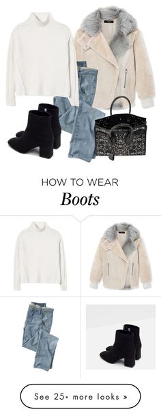 """""""Untitled #9165"""" by katgorostiza on Polyvore featuring TIBI, Wrap, Rebecca Taylor, Zara, Yves Saint Laurent, women's clothing, women, female, woman and misses"""