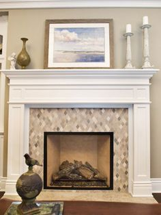 Bon 10 Stylish Tile Options For Your Fireplace Surround, #amazing #fireplace # Tiles Tags