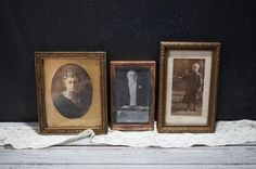 Wood Picture Frames by momentofnostalgia on Etsy