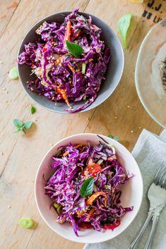 Arame Cabbage Salad | Tahini Dressing (vegan)