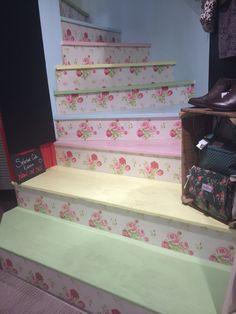 Cath Kidson staircase