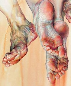 Human Figure Drawing Reference Exquisite drawing/painting of feet Feet Drawing, Life Drawing, Drawing Faces, Painting & Drawing, Art Drawings, Human Painting, Matte Painting, Body Painting, Figurative Kunst