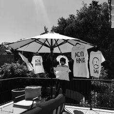 Sergio and his t shirts