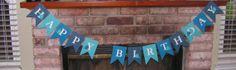 Whale Happy Birthday Banner