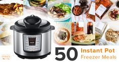 Instant Pot freezer meals will mean dinner is on the table faster than ever! Make a meal plan from our favorite pressure cooking, freezer cooking favorites!
