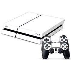 Basic Colors - White Skin - Playstation 4 Protector