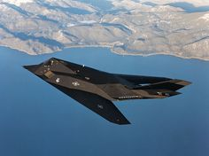 The Lockheed stealth fighter is the world's first operational stealth aircraft, employing a facetted design and new materials. Military Helicopter, Military Jets, Military Aircraft, Military Weapons, Stealth Aircraft, Fighter Aircraft, Fighter Jets, Stealth Bomber, Nasa History