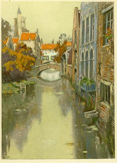 Brugge, Henri Cassiers