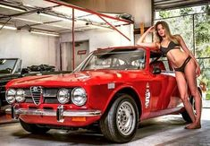 Enjoy this stylish Alfa Romeo photo collection of 30 cars with 30 beautiful girls. Choose and set up your new Alfa wallpaper :) You may also like: 50 Alfas & 50 Women (Photo Gallery – Brera) Alfa That Created Maserati, Lamborghini Lamborghini, Ferrari 458, Alfa Romeo Gta, Alfa Romeo Spider, 1957 Chevrolet, Sexy Cars, Hot Cars, Sexy Autos