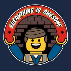 Weekly Shirts - Everything is Awesome - Lego tshirt