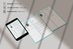 Creative Resume Templates for MS Word and Mac Pages. Professional Resume Templates and Matching Cover Letter + References Pin for later! cover letter formats, covering letter formats, cover letters formats, how to write a cover letter, resume formats, what is a cover letter