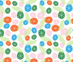 PARASOL fabric by camillehermant on Spoonflower - custom fabric