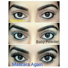#Eyelashes Bigger, better eyelashes