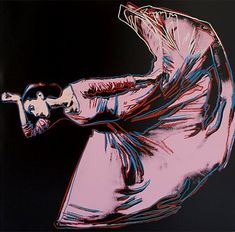 Andy Warhol, Martha Graham (Letter to the World - The Kick)