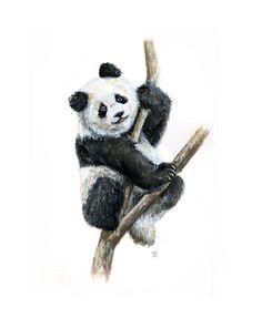 Панда размером с ладошку