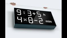 The Albert clock gets your brain active, it keeps you sharp with mathematics, and it can be set to different levels of difficulty.