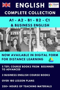 Over 200 lesson plans now available digitally and in PDF and PowerPoint. Full A1-C1 course books and three levels of Business English. Save big with this mega bundle and spend more time sun bathing and less time lesson planning. English Lesson Plans, English Lessons, English Writing Skills, Teaching English, English Language Learners, Language Arts, Teaching Courses, Teacher Lesson Plans, English Course