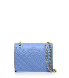 Tory Burch FLEMING MEDIUM BAG - BLUE DUSK