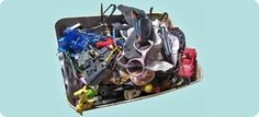 object trouvé : -> gevonden voorwerpen