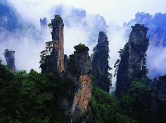 22 Tianzi Mountains, Chine 1