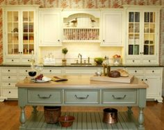 French Provincial kitchens