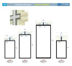 Fachada Integral - Básico Cerrado Perfiletto ®  Catálogo Virtual Perfiletto