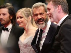 Diego Luna, Erin Moriarty, Mel Gibson, Jean-Francois Richet (Blood Father) |.| Cannes 2016