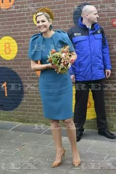 King Willem-Alexander and Queen Maxima visit to Almelo and Twente, Netherlands - 27 Oct 2016  Queen Maxima  27 Oct 2016