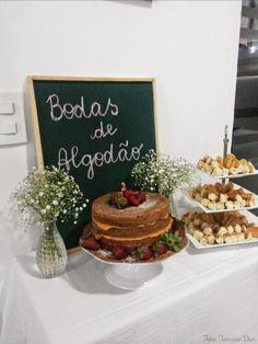 BodasDeAlgodao_TaimaraDias_2 Birthday Parties, Birthday Cake, Always Love You, Sweet Sixteen, Place Card Holders, Table Decorations, Party, Wedding, Cone